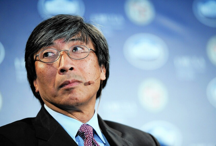 Patrick Soon-Shiong, an L.A. billionaire who serves as NantKwest's chairman, last year received stock worth $15 million, as well as stock-option awards that the company valued at $132.2 million.