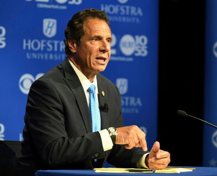 Gov. Andrew Cuomo was endorsed by the nation's largest gun control group.