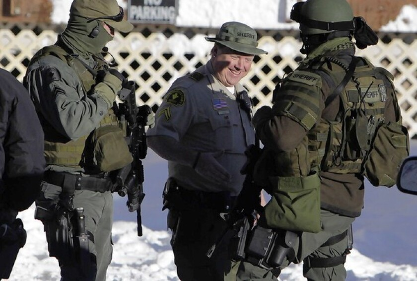 Deputy killed in Dorner standoff was 'fun,' 'boisterous' new dad