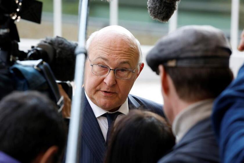 El ministro de Economía y Finanzas galo, Michel Sapin. EFE/Archivo