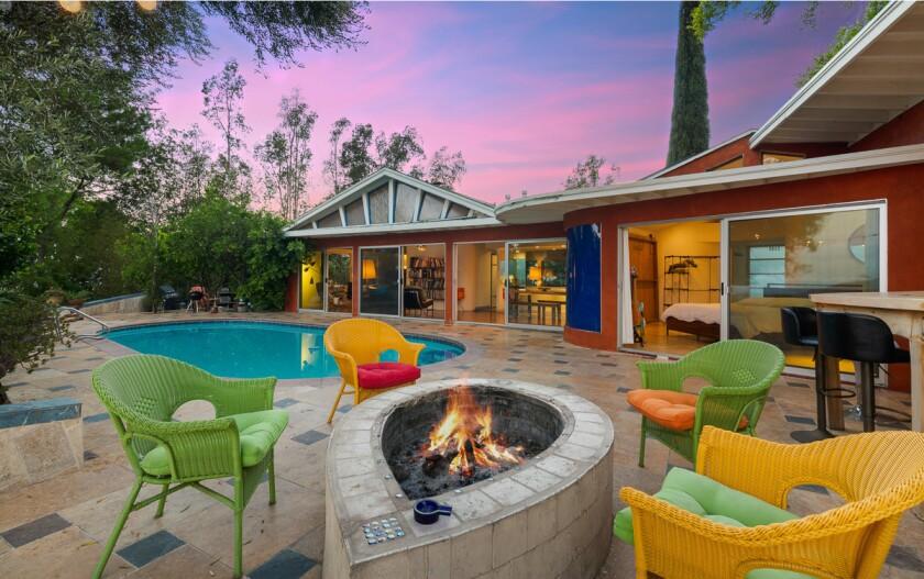 John Frusciante's former Midcentury home | Hot Property