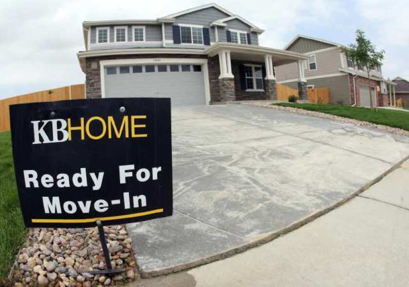 New-home sales slumped 0.9% in January, according to the Commerce Department.
