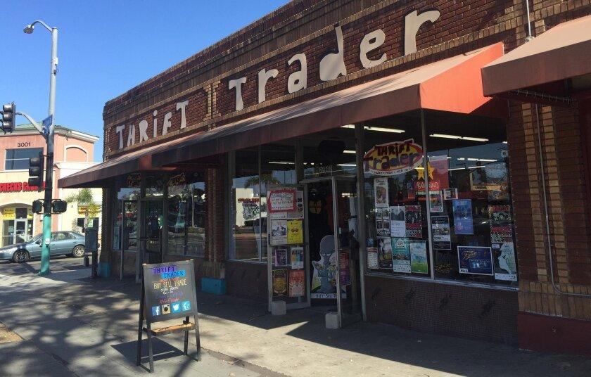 Thrift Trader in North Park. Anthony Tarantino