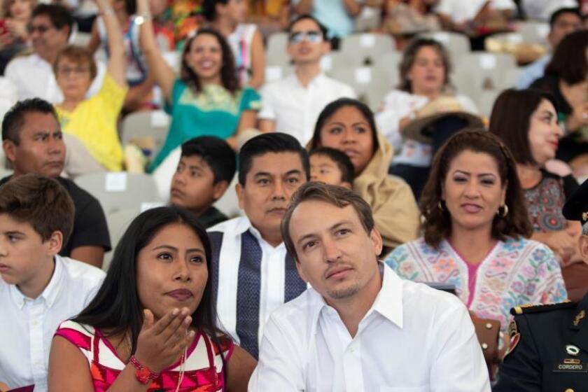 Yalitza Aparicio protagoniza la fiesta de la Guelaguetza en Oaxaca, México