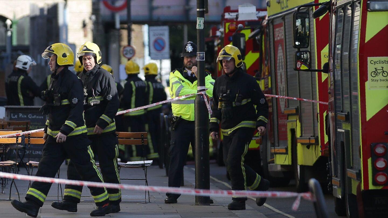 London subway blast