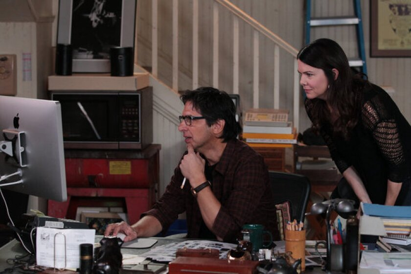 "Ray Romano and Lauren Graham in ""Parenthood."""