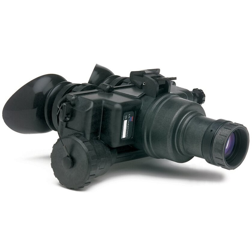 This undated photo, provided by US Night Vision Corp., shows night vision goggles. A man who lives in China was arrested in Hawaii for allegedly arranging to buy six pairs of military-grade night vision goggles from an undercover federal agent and trying to export them to his home country, court do