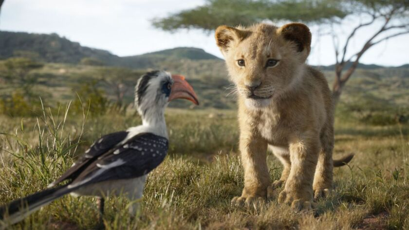 "Disney's ""The Lion King"" is the latest computer-generated hit for the Burbank entertainment giant."