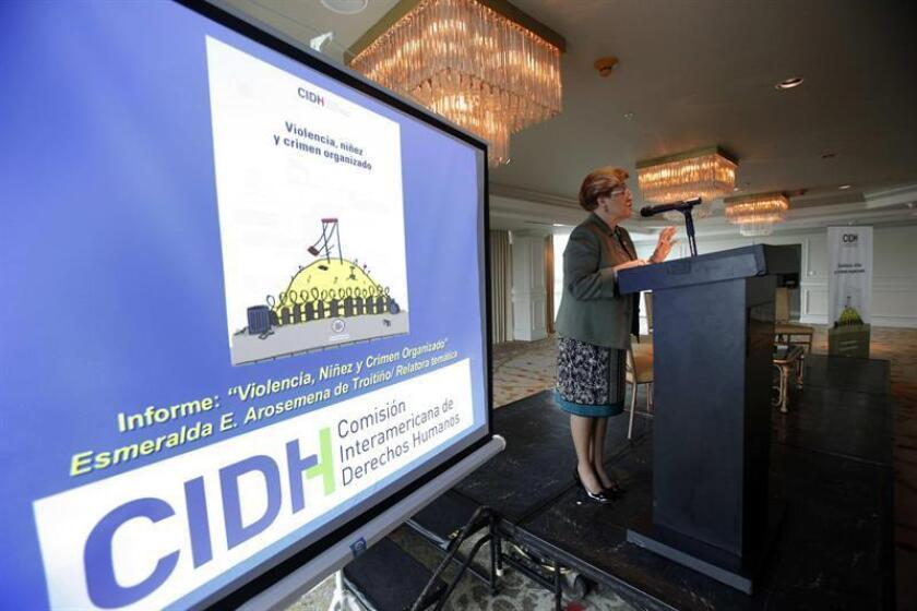 Esmeralda Arosemena de Troitiño, vicepresidenta primera de la CIDH. EFE/Archivo