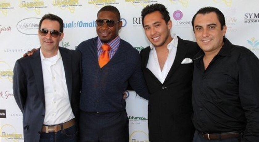 Marc Chase, Quentin Jammer, Susumo Azano, Cesar Garcia