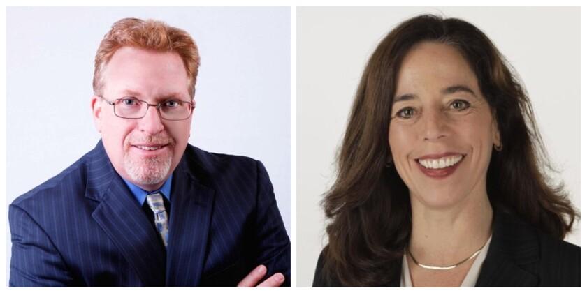 Challenger Cory Briggs and incumbent Mara Elliott are running for San Diego city attorney.