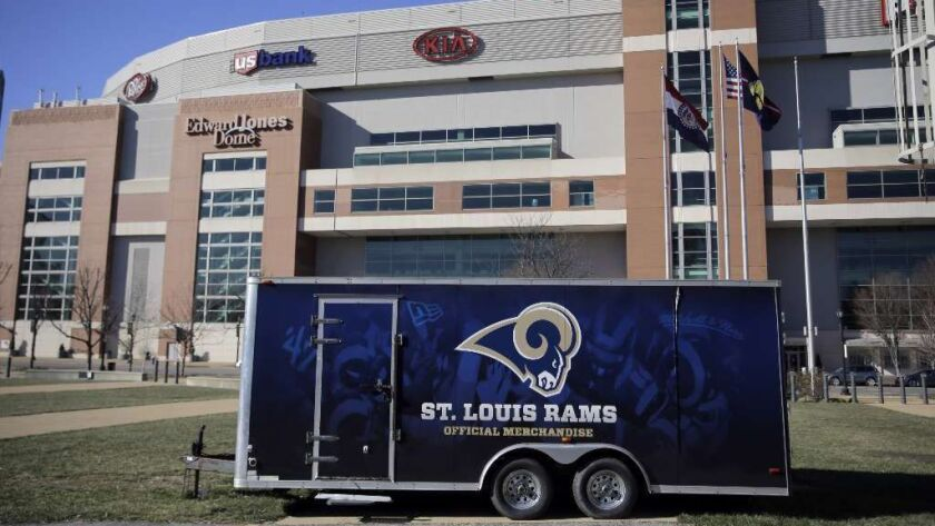 c41d86f1 Rams agree to settle lawsuit over St. Louis seat licenses - Los ...
