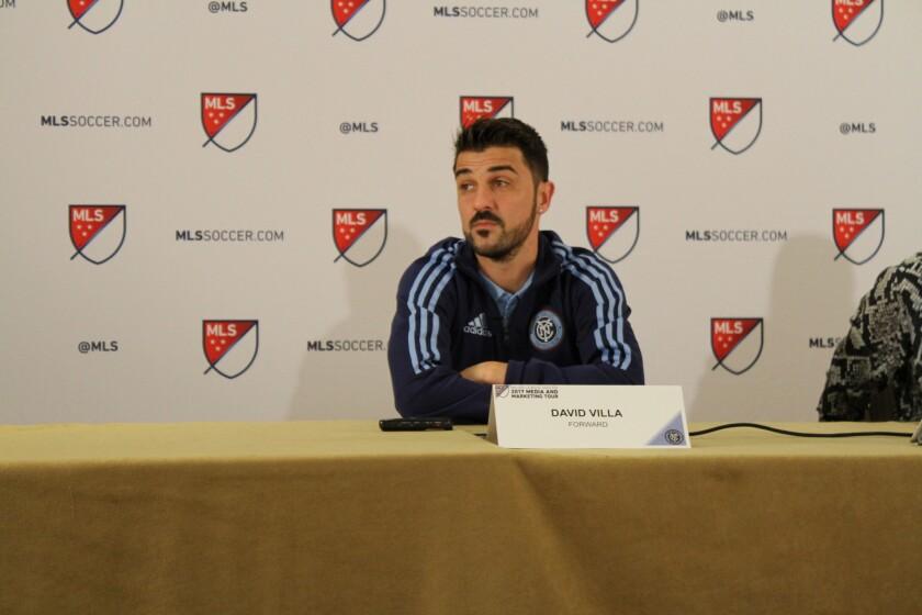 David Villa ve completada su adaptación al futbol estadounidense.