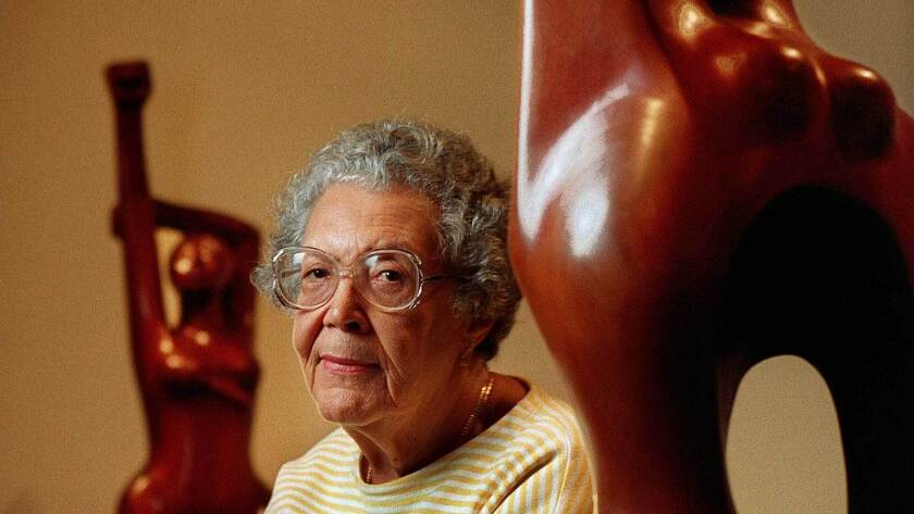 Elizabeth Catlett was seen as one of the 20th century's most important African American artists.