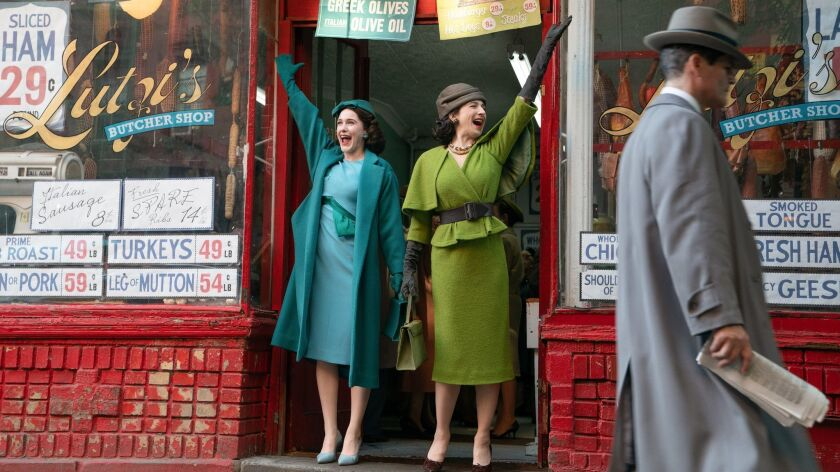 """The second season of """"The Marvelous Mrs. Maisel"""" returns to Amazon Prime Video on Dec. 5."""