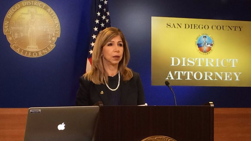 District Attorney Summer Stephan