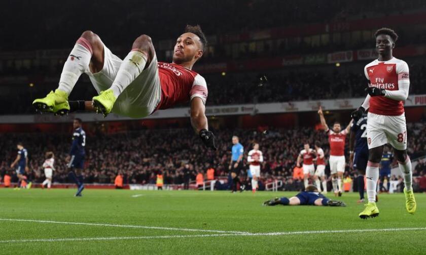 El Arsenal ganó 4-1 recuperó la alegría después de encadenar dos partidos consecutivos sin conocer la victoria. EFE