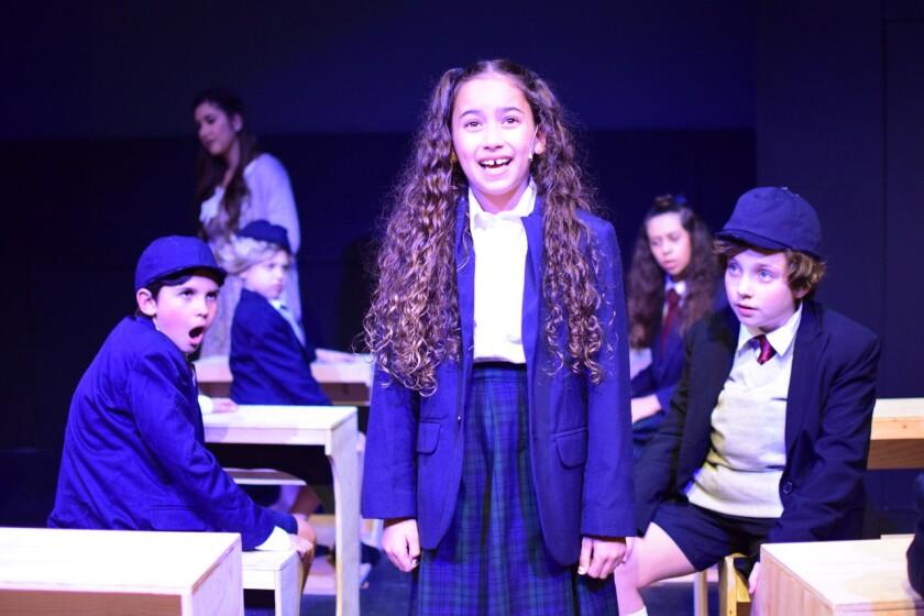 Matilda at the Attic Community Theater
