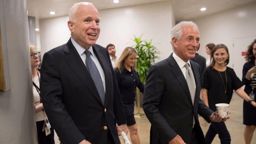 John McCain, Bob Corker
