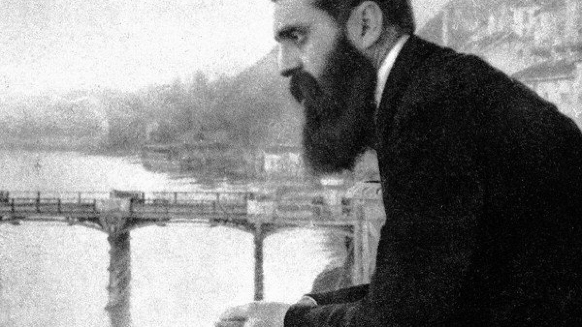 Review: 'It Is No Dream' an uneven look at Theodor Herzl - Los Angeles Times