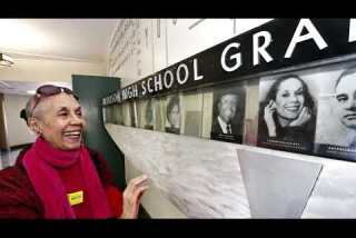 Dance legend returns to South L.A. high school with a message
