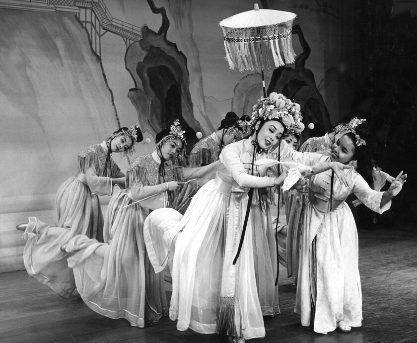 'Flower Drum Song' at the L.A. Civic Light Opera in 1960