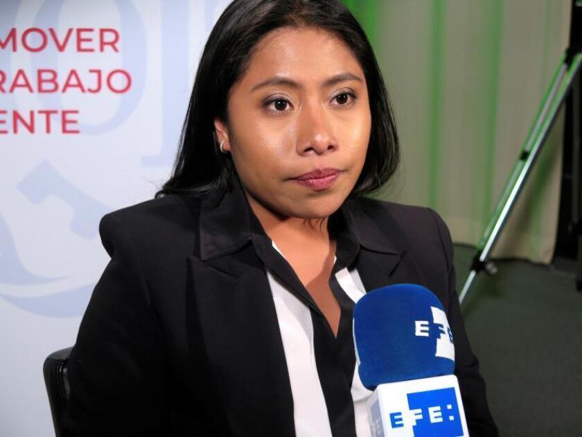 La actriz mexicana Yalitza Aparicio. EFE