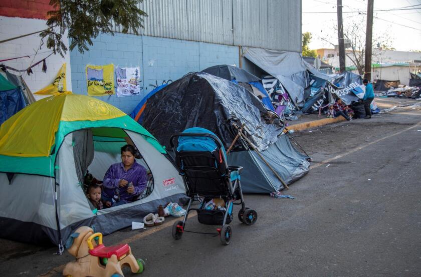 Incertidumbre sobre el paradero de m?s de 3.000 migrantes en Tijuana