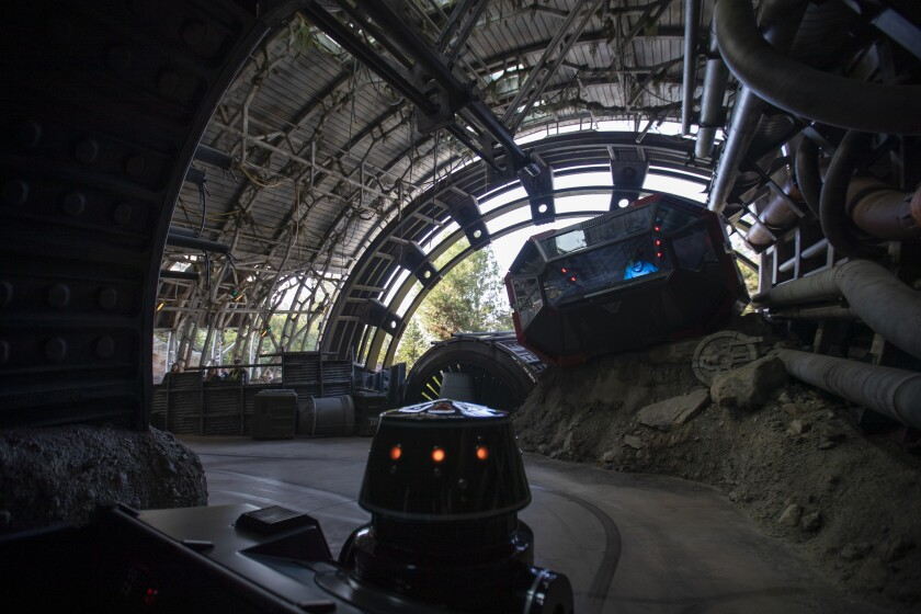 Star Wars: Rise of the Resistance at the Disneyland Resort