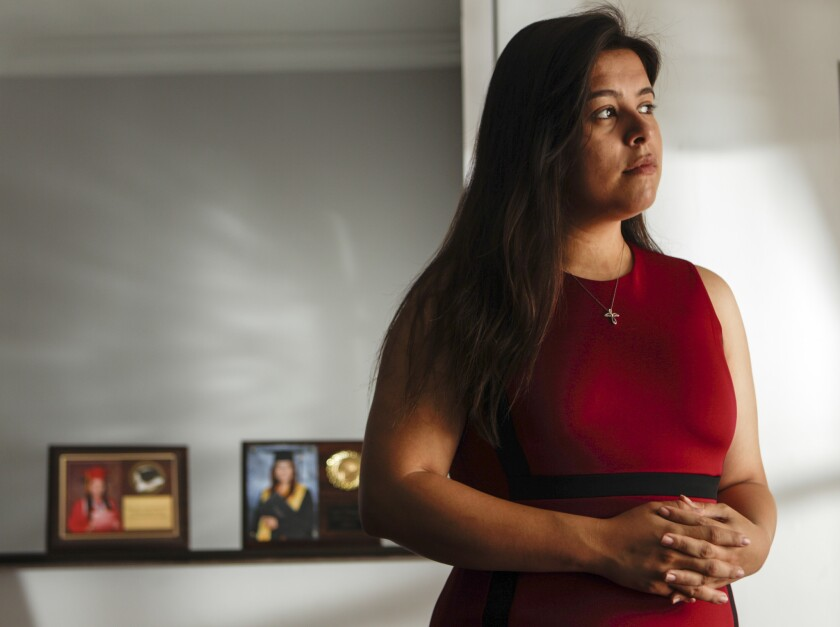 "Melody Klingenfuss still believes DACA ""is under threat like never before."""