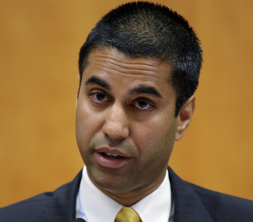 FCC Commissioner Ajit Pai voiced concerns about the FCC survey.