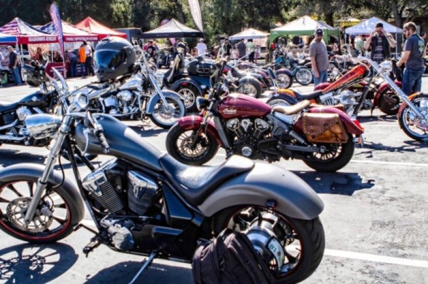The Ramona Motorcycle Rally Backcountry Run will start at 9 a.m. April 17 at Barn restaurant, 344 Main St.