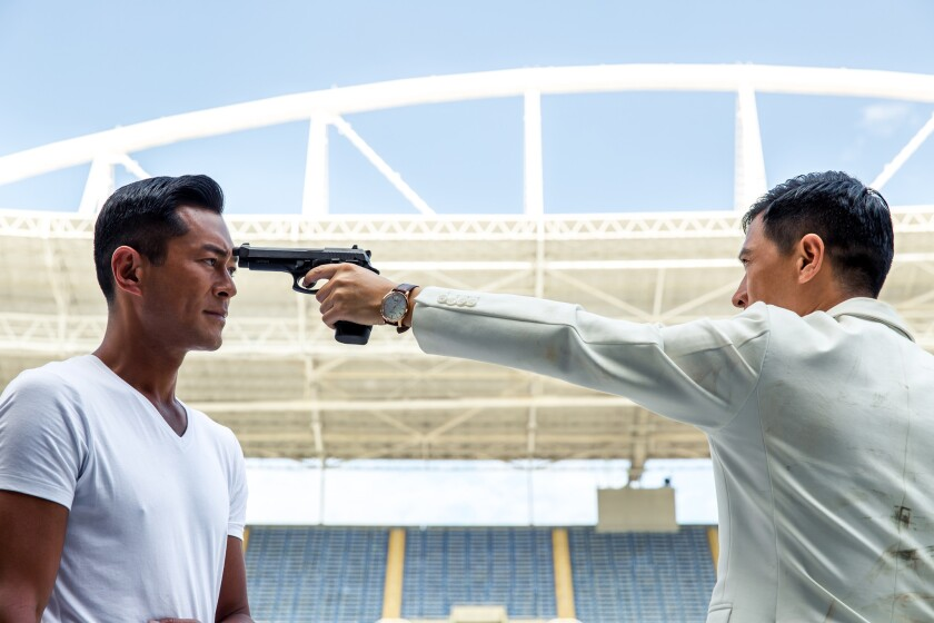 """""""Line Walker,"""" a film adaptation of a Hong Kong TV show about undercover police officers, earned $36 million in its first four days in cinemas."""