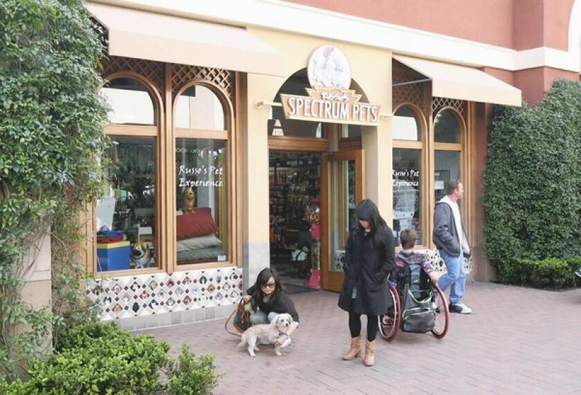 Russo's Spectrum Pets in Irvine.