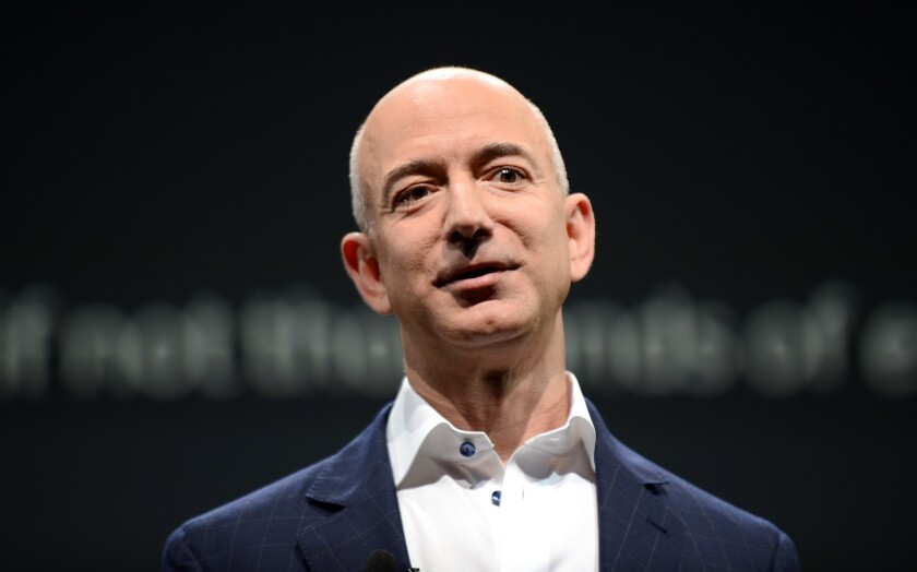Jeff Bezos' journey to newspaper magnate: Q&A; with author Brad Stone