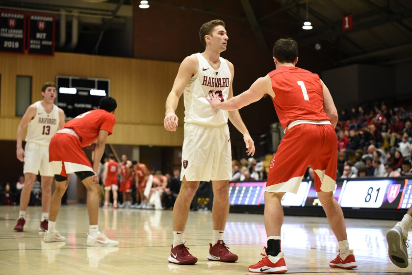 Reed Farley played in 12 games for Harvard. He is transferring to UC San Diego.