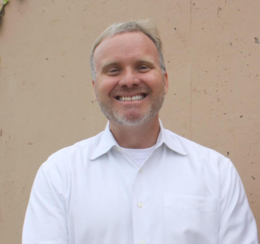 La Jolla High School Principal Chuck Podhorsky