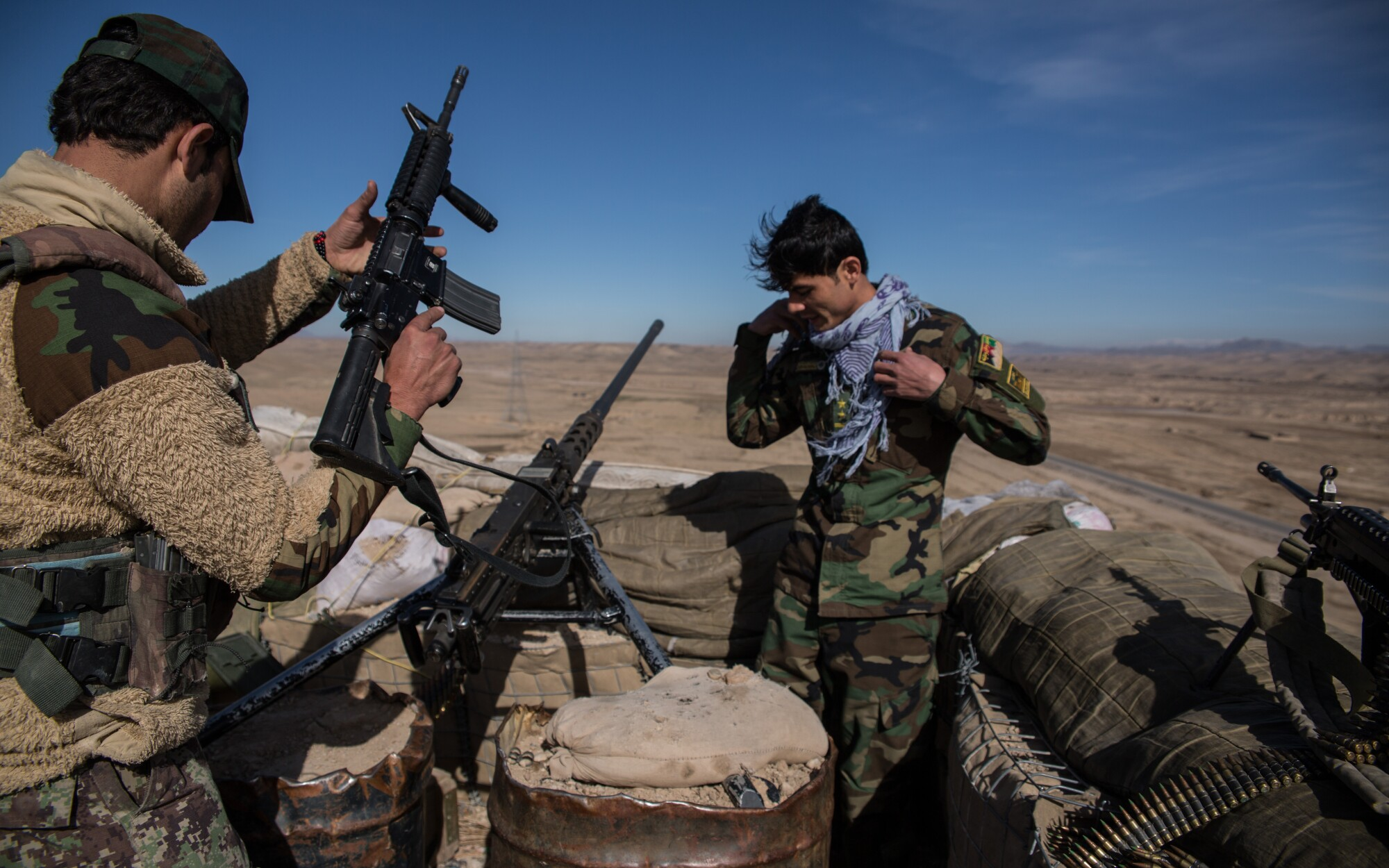 Fighting could disrupt U.S.-Taliban truce in Afghan hinterlands - Los Angeles Times