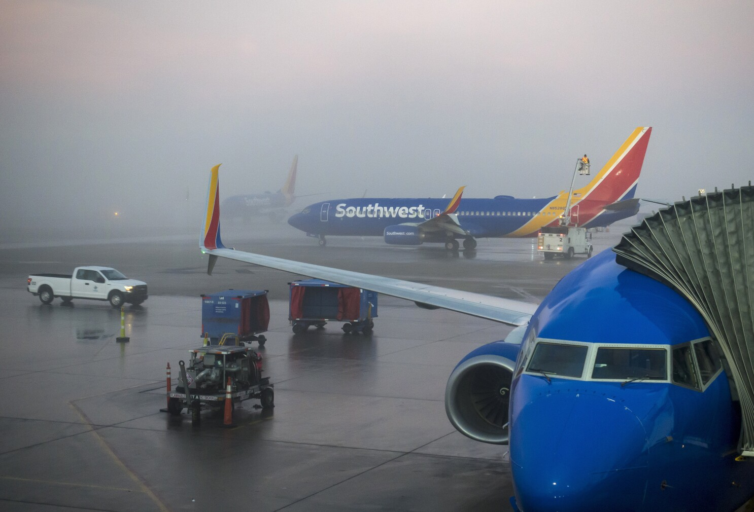 Chicago O'Hare Busiest Times At Christmas 2020 Fog snarls flights at Chicago's O'Hare, Midway airports   The San