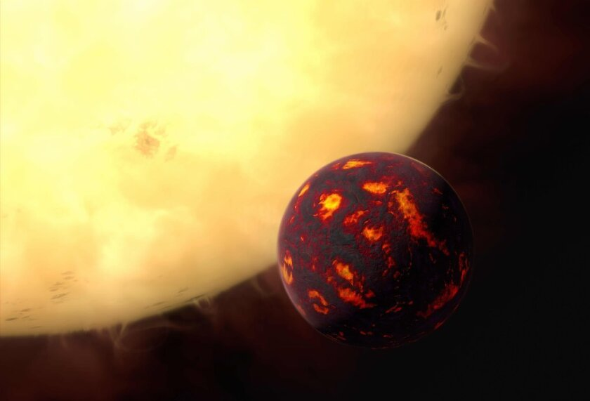 Astronomers using the NASA Spitzer Space Telescope have found that the super Earth 55 Cancri e is a scorched hellscape that may even have molten rock on parts of its surface.