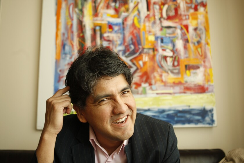"""Sherman Alexie's award-winning young adult novel """"The Absolutely True Diary of a Part-Time Indian"""" was the most-challenged book of 2014."""