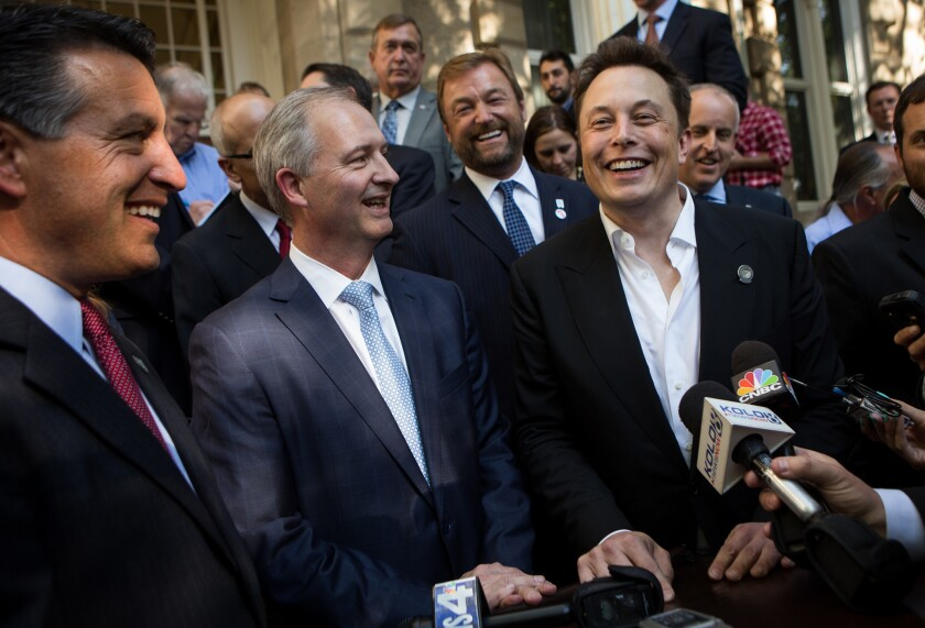 Tesla deal would cut Nevada film funds