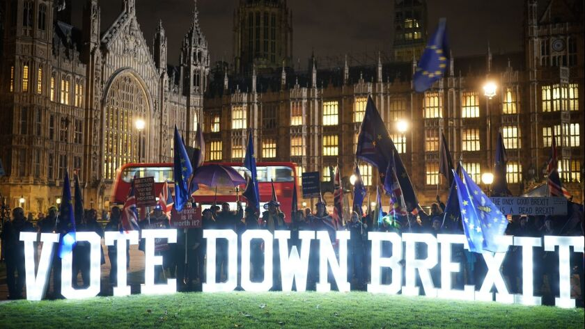 British Government Delays The Meaningful Vote On Brexit