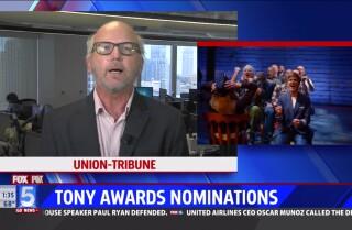 La Jolla Playhouse-bred shows earn key Tony nominations