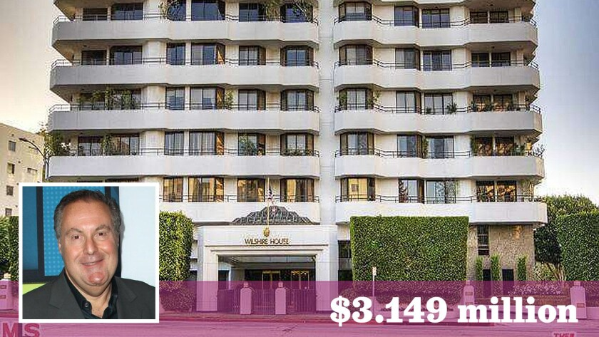 Spanish-language sportscaster and World Cup fixture Andrés Cantor has put a renovated condominium in the Wilshire Corridor on the market for $3.149 million.