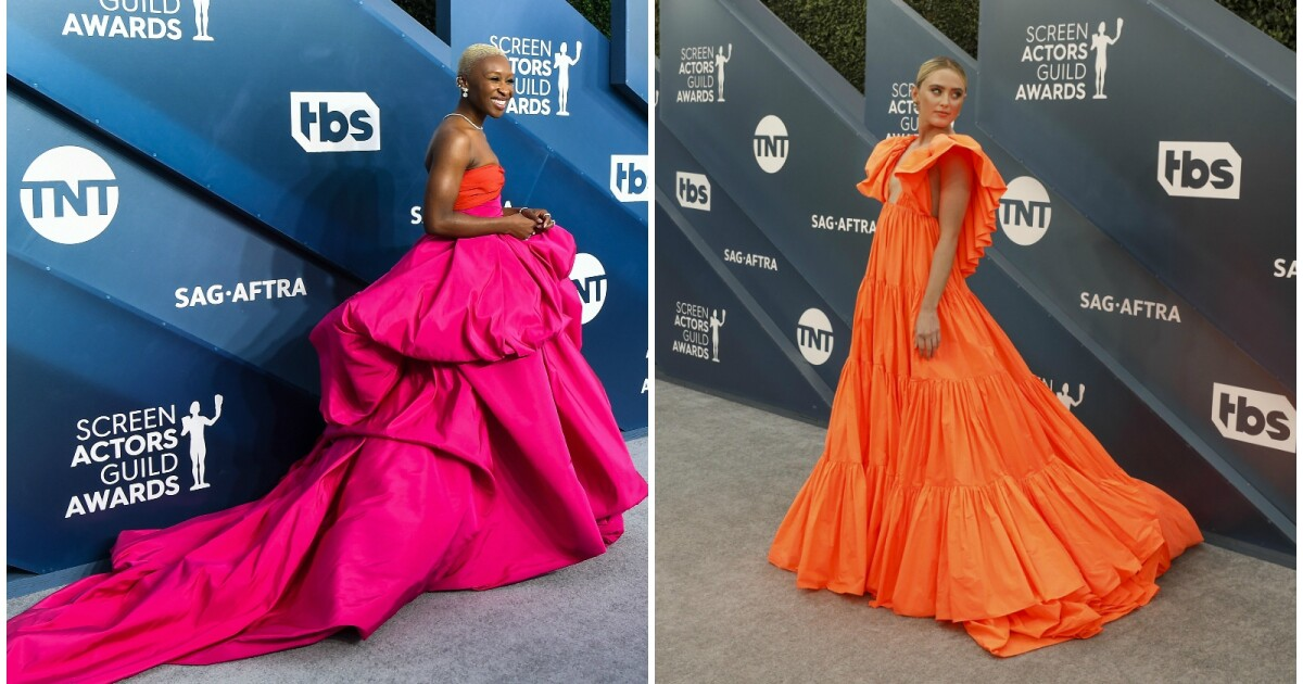 SAG Awards 2020 fashion: The stars shine bright and bold on the silver carpet - Los Angeles Times