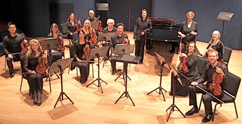 The Poway Symphonette performing in Shanghai.