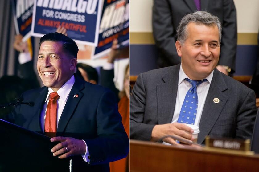 Juan Hidalgo is challenging Rep. Juan Vargas in California's 51st congressional district.
