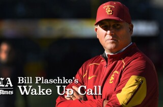 Bill Plaschke's Wakeup Call: USC hiring Clay Helton is a great thing