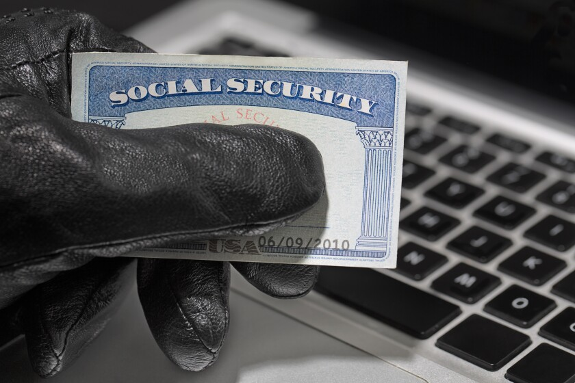 Thief and Social Security Card